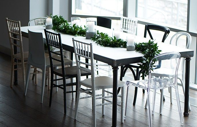 Party Rental Ltd.   Whatu0027s New: Loft Dining Table + The Chairs To Pair