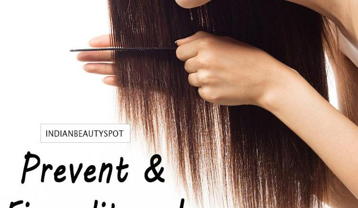 Prevent and Fix split ends with home treatments