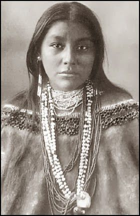 Ft. Sill Oklahoma - photo archives ... Apache, Comanche, Chiricohua, and other Western Tribes. Beautiful girl.
