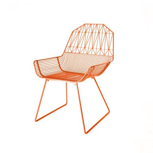 Gaurav Nanda designed the Farmhouse Lounge Chair for Bend to be as sturdy as a piece of farm machinery, but easy to relax in after a long day. The lounge chair blends traditional elements—the backrest is inspired by old Amish barn architecture—along with modern geometric shapes. The lounge chair is crafted in galvanized iron that is hot-dipped and powder-coated, which makes the chair an excellent seating option for both indoor and outdoor spaces. Available at store.dwell.com.