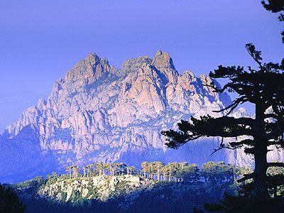 les aiguilles de Bavella en Corse