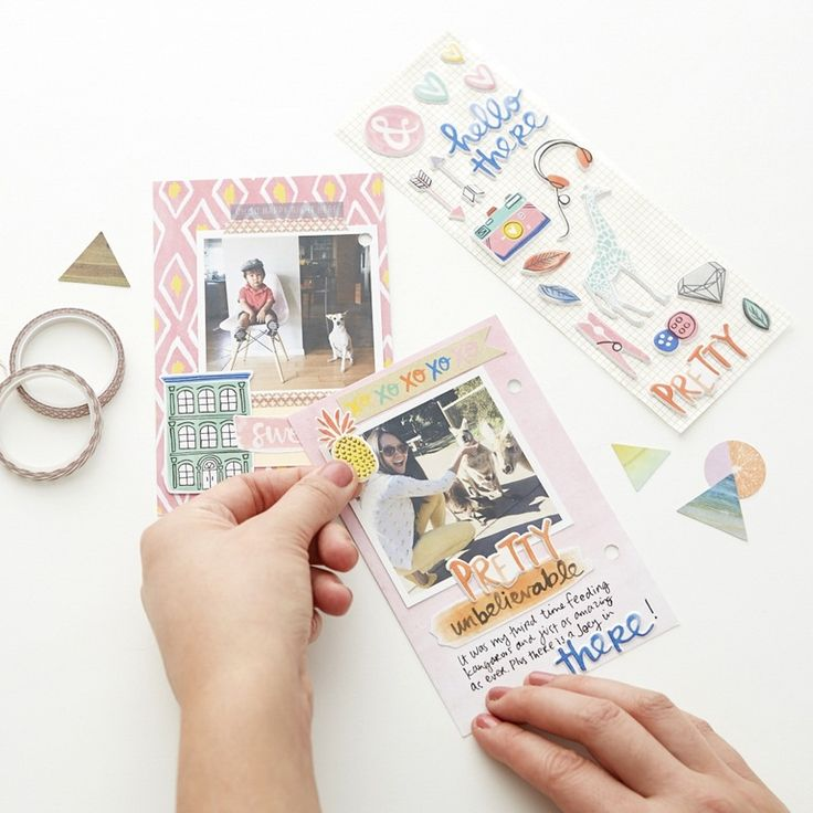 This class from Amy Tangerine and Brit + Co. looks like a fun way to get your photos off your phone and have some fun with them. :: Modern Scrapbooking Online Class