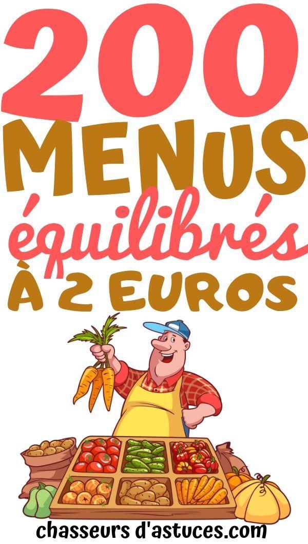 200 Menus équilibrés à 2 Euros : menus, équilibrés, euros, Menus, Équilibrés, Euros., Manger, équilibré,, C'est, Quelque, Chose, Devrions, Faire., Malheureusement,, Sommes…, Epicure,, Menu,, Cooking