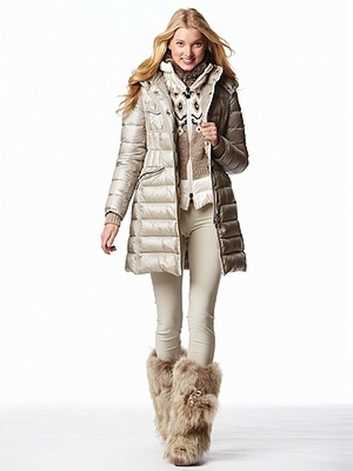 Mia Paris #fur boot from Gorsuch. In LOVE with this boot! - http://millionairecorner.com/Content_Blog/Heather-Couture-Corner-Furry-Boots-Winter-2013.aspx