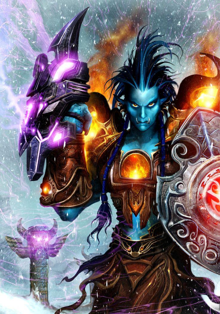 #wowtcg #warcraft #troll #chaman #shaman