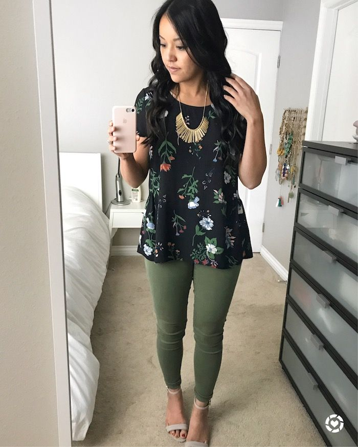 I know I've been talking about this top a whole lot, but I just love how easy it is to wear and that it's totally remixable!  A few we...