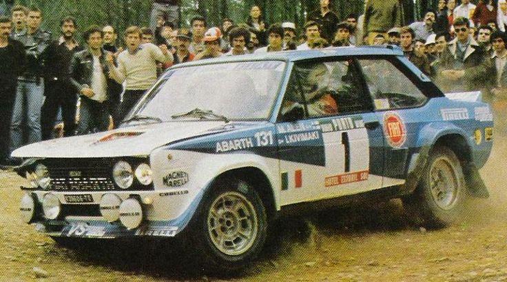 M. Alén - Fiat 131 Abarth (Portugal 81)