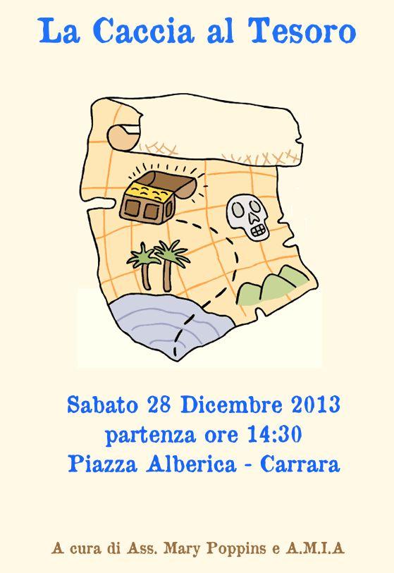 La Caccia al Tesoro  Marina di Carrara Sabato 28 Dicembre 2013