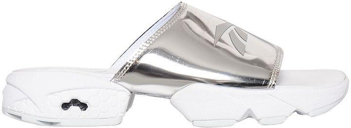 Fury Magic Hour Metallic Leather Sandals