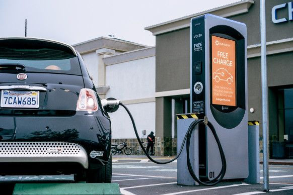 These EV Chargers Are Free. The Catch? They've Got Ads