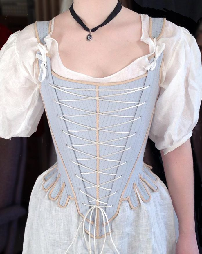 1740s stays and other undies (lots of pictures and construction info)