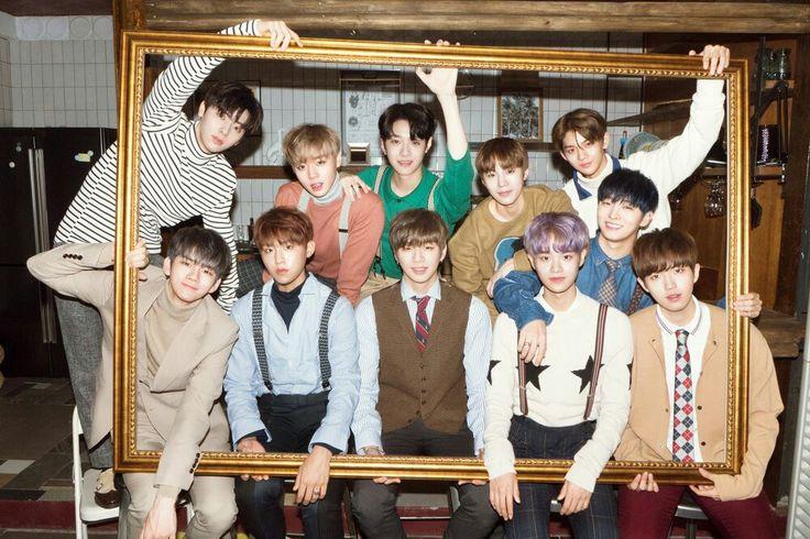WANNA ONE   Daniel, Jihoon, Daehwi, Jaehwan, Jisung, Seongwoo, Woojin, Minhyun, Jinyoung, Sungwoon, Guanlin