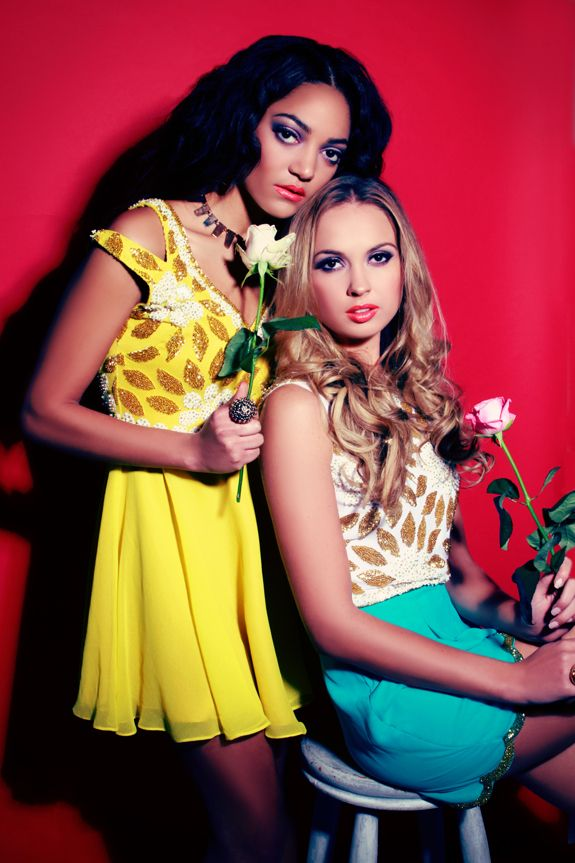 Lookbook: Virgos Lounge Spring/Summer 2013 Bedazzle in Embellishment - This yellow dress!!!!