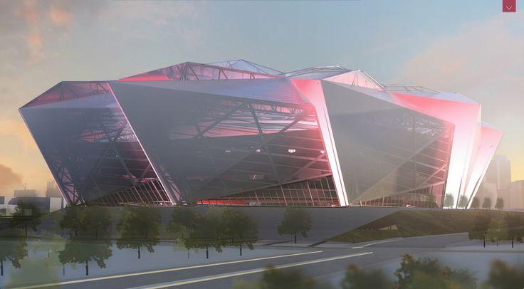 The New Atlanta Falcons Stadium Design Is Awesome   Atlnightspots