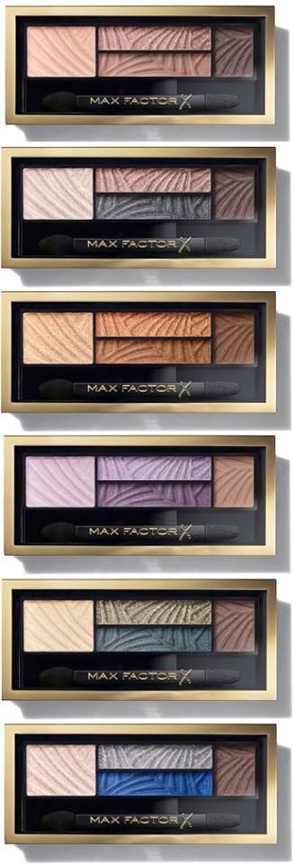 Max Factor Fall 2015 Makeup Collection -  Max factor always deliver with their shade range from foundations to blush to eyeshadow. The texture are really nice & blend so easily & the shade range on these beauties is brilliant!