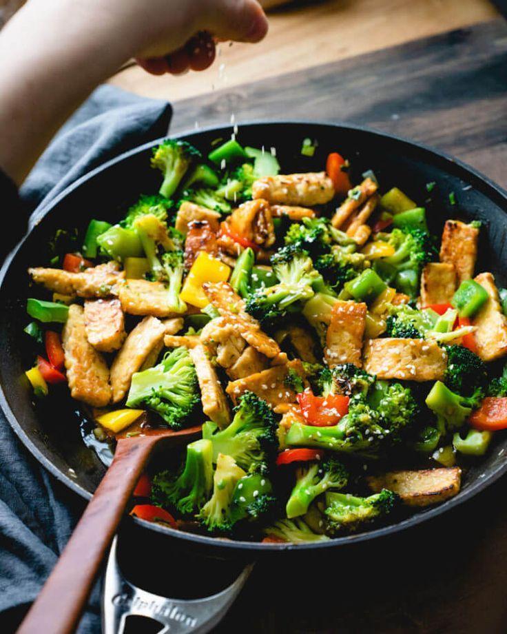 Teriyaki Vegetable Stir Fry A Couple Cooks Recipe Teriyaki Vegetable Vegetable Recipes Easy Meals