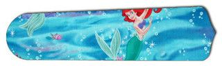 "Little Mermaid 42"" Ceiling Fan BLADES ONLY - eclectic - ceiling fans - by New Image Concepts"