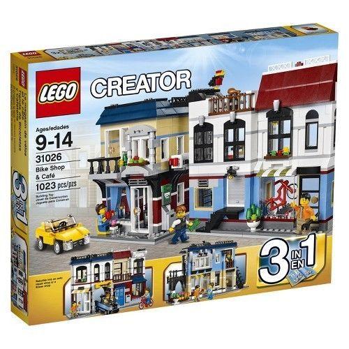 LEGO® Creator Bike Shop & Café 31026 #LEGO