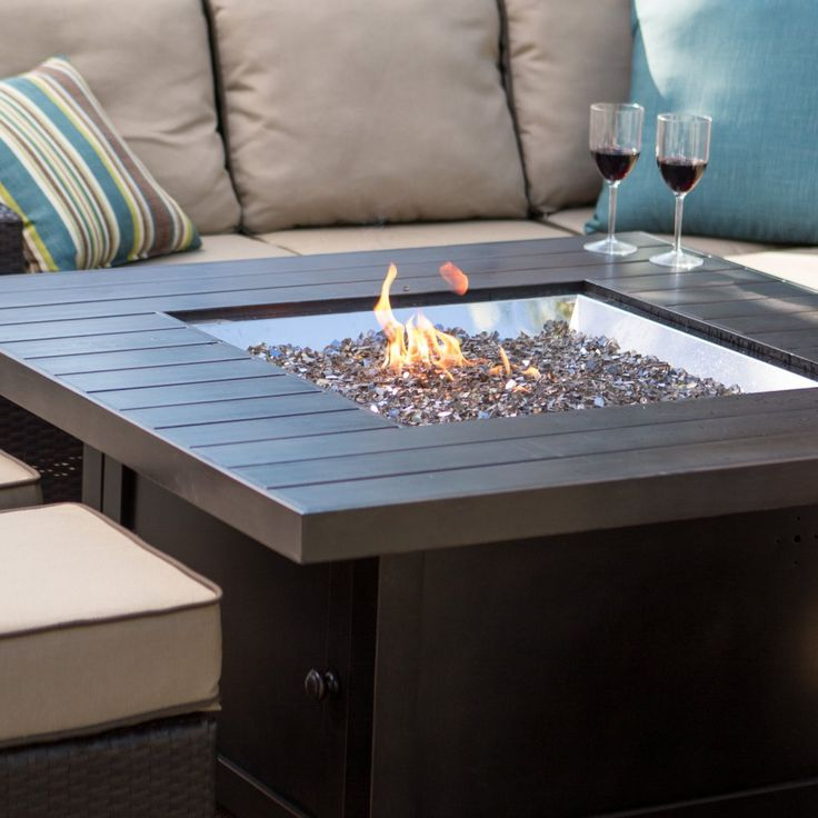 Buy Napoleon Square Propane Fire Pit Table: Use code PF-3326 to receive a FREE windscreen valued at $249. Offer ends 11:59 p.m. ET May 31. View ratings, reviews or browse similar Fire Pits at Hayneedle.