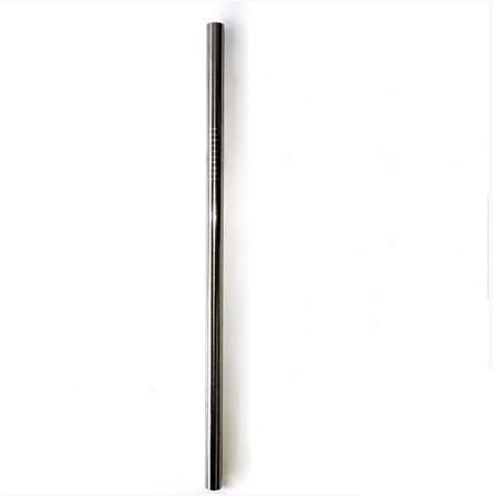 Stainless Steel Straw Smoothie Straight