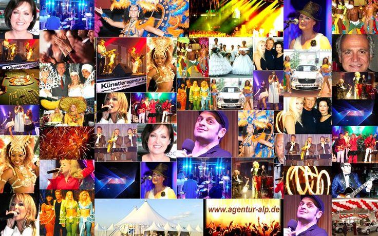 Erfolgreiche, einzigartige und faszinierende Events / www.Agentur-ALP.de   Künstleragentur A.L.P. Veranstaltungsservice  DIE Eventagentur für Deutschland... Ihre Online Künstlervermittlung für alle Bundesländer...