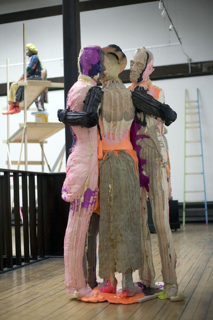 'The Immortals', Folkert de Jong, (2012), Mackintosh Museum, The Glasgow School of Art. Part of Glasgow International supported programme (2012) Photo: Janet Wilson