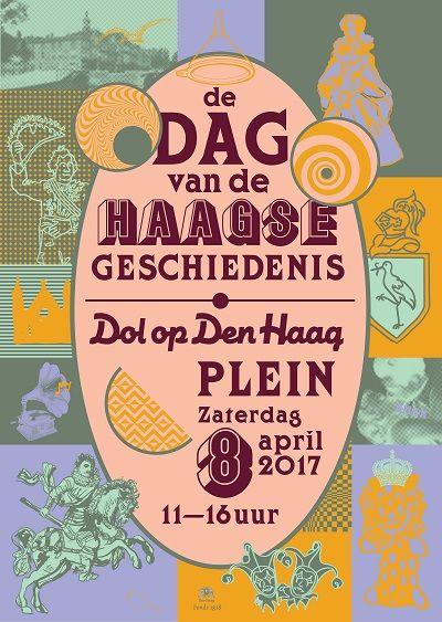Dag van de Haagse Geschiedenis  Mogelijk gemaakt door: gemeente Den Haag, Fonds 1818, Haagse Brug