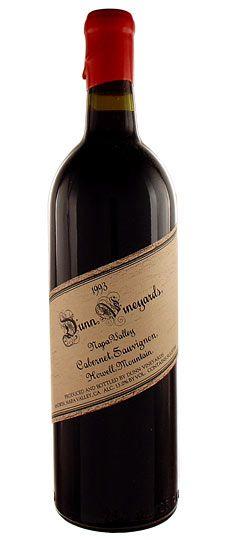 Dunn Vineyards, Cabernet Sauvignon 'Howell Mountain', Napa Valley,
