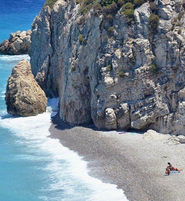 Tsabou Beach, Samos Island, Dodecanese, Greece   by Petros Gleoudis on My-Samos Blog