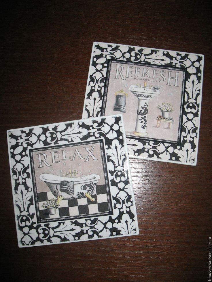 "Купить ""Французский винтаж"" - чёрно-белый, табличка, табличка на дверь, таблички на дверь, Таблички"