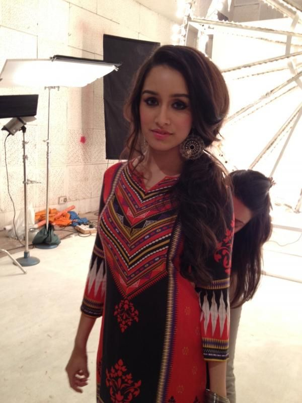 Shraddha Kapoor shoots for Global Desi