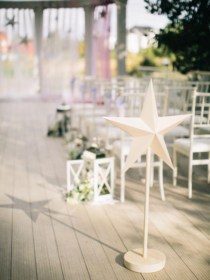 wedding, ceremony, wedding decor, wedding photo, свадьба, оформление свадьбы, церемония, гости, оформление стульев, фонари, цветы, звезды