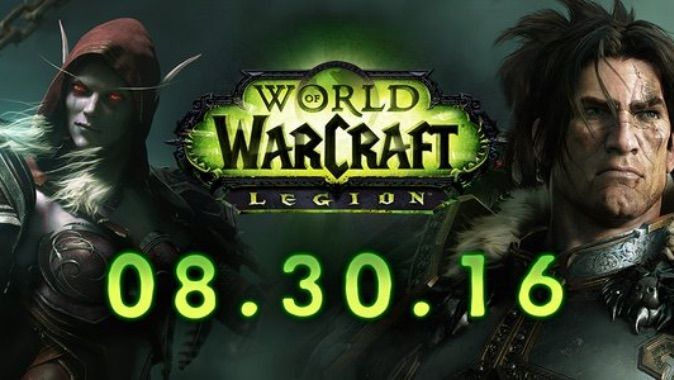 #the5: #Warcraft Legion release date August 30, 2016: