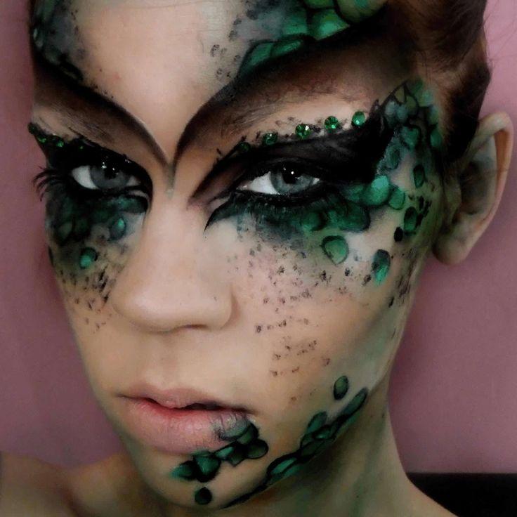 151 best MerLady Costume images on Pinterest | Halloween makeup ...