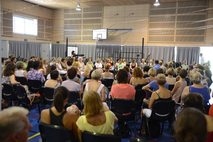 Lots of discussions in the parent groups at the G2W Festival Jan 2015