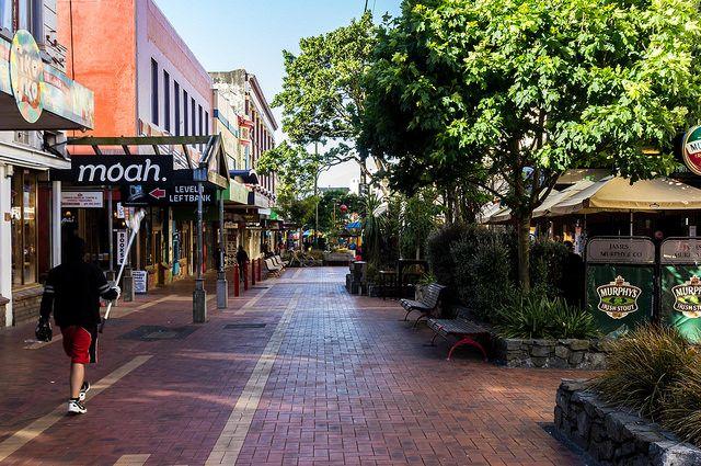 Cuba Street Wellington Nouvelle-Zelande