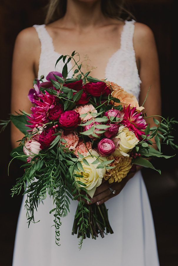 SHANNON + CHRISTIAN // #wedding #bride #flowers #bouquet