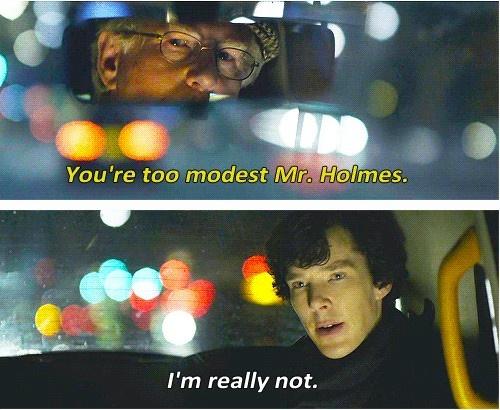 """""""I'm really not."""""""
