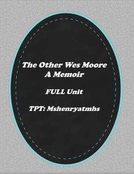 review the other wes moore I just finished reading the other wes moore: one name, two fates it's written by wes moore, a rhodes scholar/army veteran/successful businessman, who.