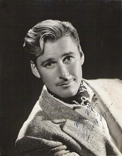 Errol Flynn - it's that endearing look in his eyes you can imagine brought the women flocking. Among other things.