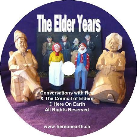 May these understandings help you, whether it is for your grandparents, your parents or in your own journey through the Elder years. available at www.hereonearth.ca