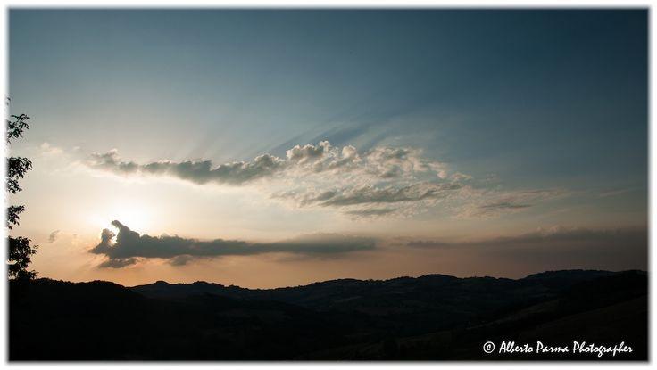 Tramonto sulla Val Luretta (PC)   Flickr - Photo Sharing!