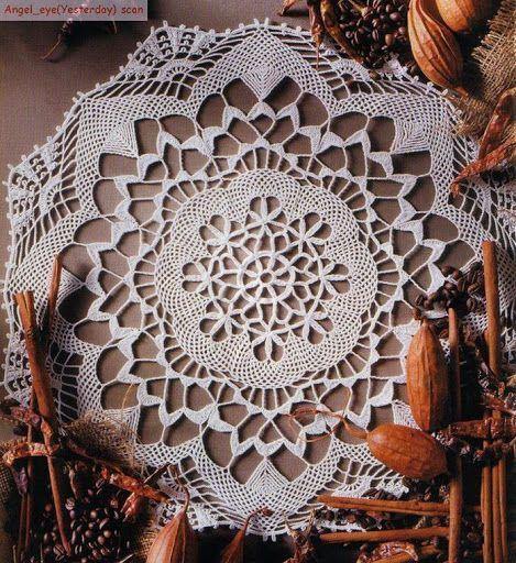 napkin - Crochet Knitting Handicraft