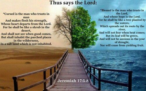 Jeremiah 17:5