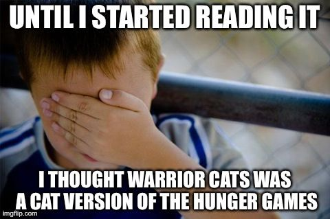 I started reading it before the hunger games was out