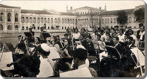 Classical music concert,1930s,Taksim,Istanbul