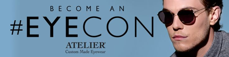 We at Atelier Eyewear are on a search for stylish, fashion forward people to become an Atelier #Eyecon! If you have what we're looking for, upload a selfie wearing your favourite sunglasses for a chance to win a pair of Custom Made Glasses or Sunglasses worth over £300! Go to www.ateliereyecon.com NOW!