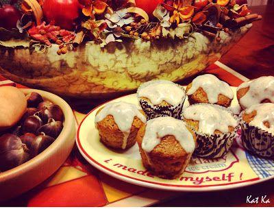 Baking moments: Tekvicové muffinky s vanilkovým krémomVýborné tekv...