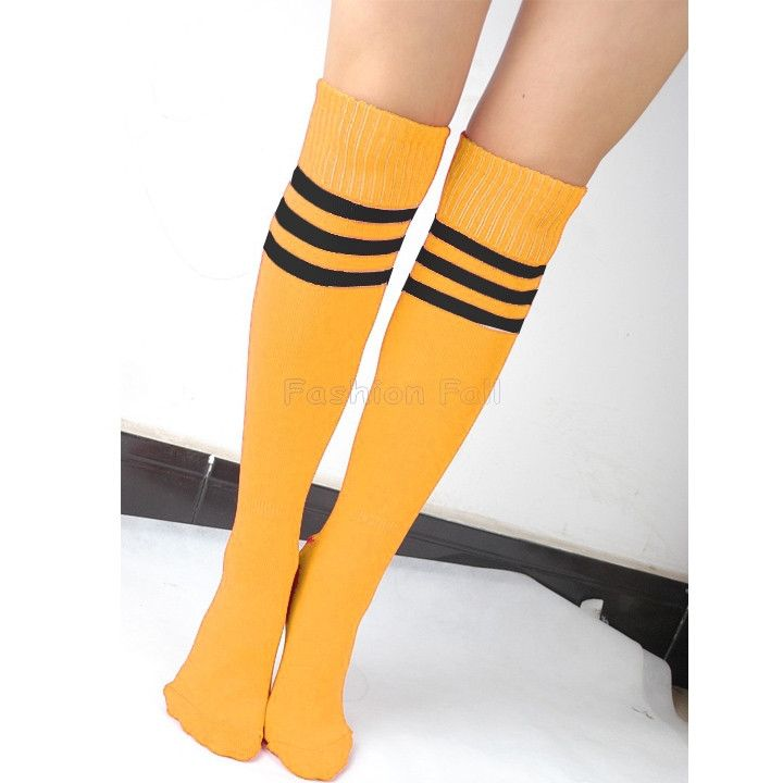 Striped Knee High Socks