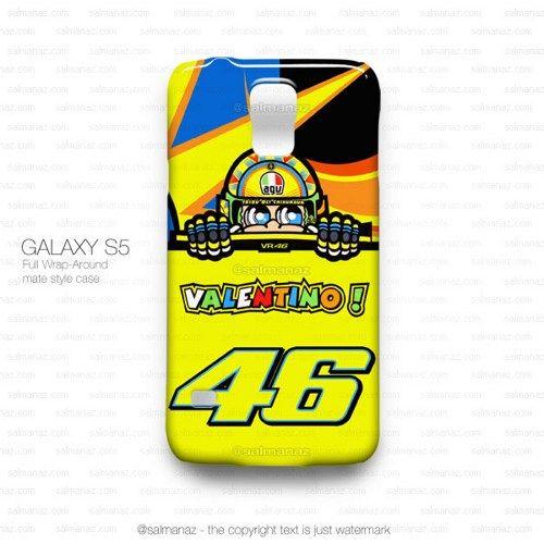Valentino Rossi VR46 Logo Monster Yamaha Team Galaxy S5 Case